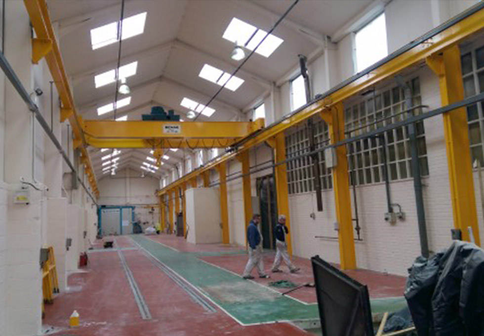 CTL Engineering, Stockport inside